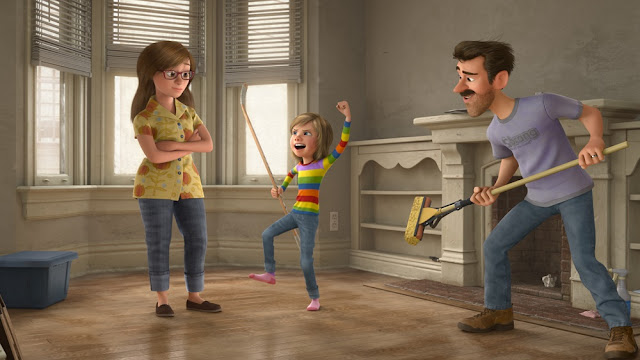 Inside Out still Riley family