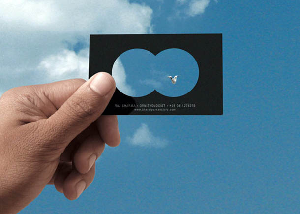 cartões de visita criativos - Haj Sharma