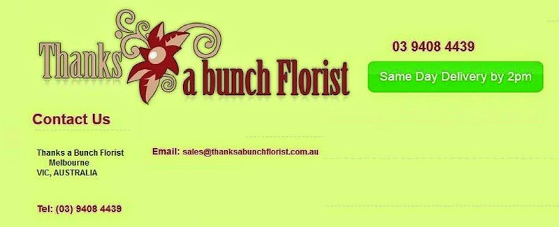 Buy Cheap Flowers in Melbourne CBD with same day delivery services by Thanks a Bunch