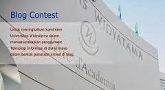 Widyatama blog contest