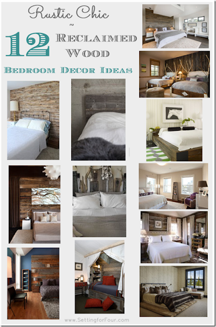 12 DIY Reclaimed Wood Bedroom Decor Ideas