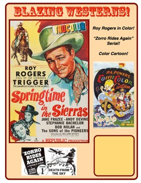 Roy Rogers in Springtime in the Sierras