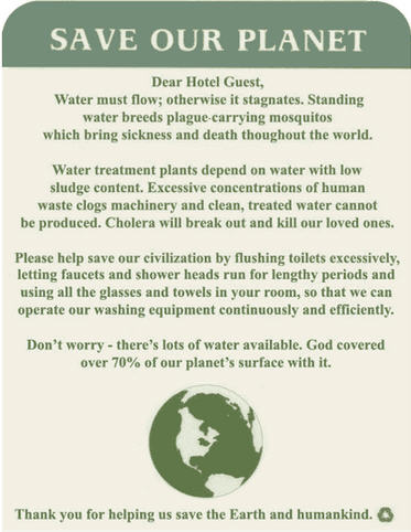 Kc bob hotels love the planet Collect and save