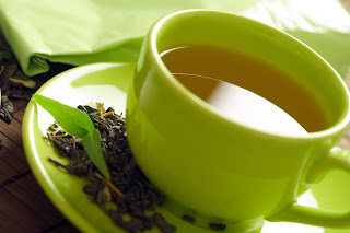 Green tea contains caffeine, which can give you a boost.