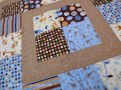 Safari Happy, quilting detail