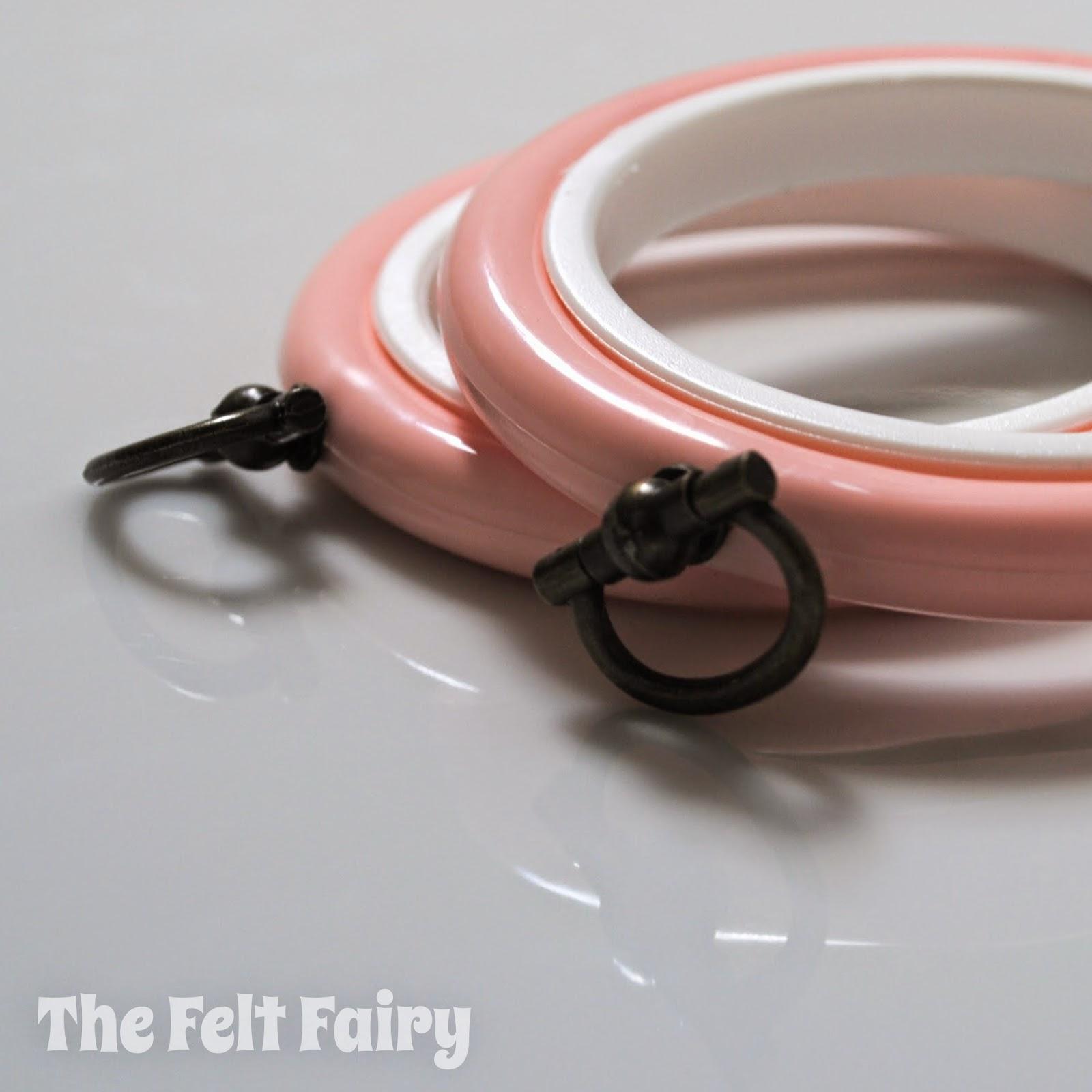 Coloured Plastic Flexi Hoops