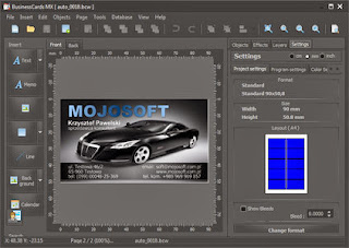 Download Mojosoft BusinessCards MX 4.89.2 Multilingual Including Blizzard