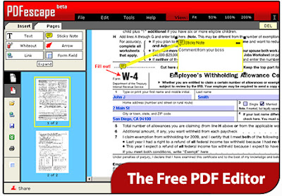 Edit Your PDF Files Online For Free
