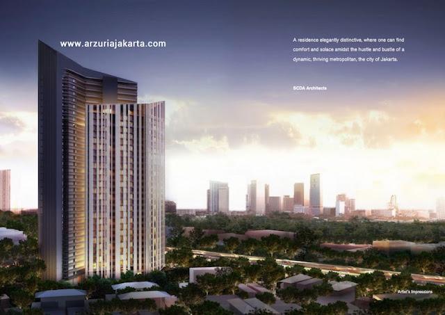 Arzuria Jakarta Apartment Mewah di Tendean Jakarta Selatan