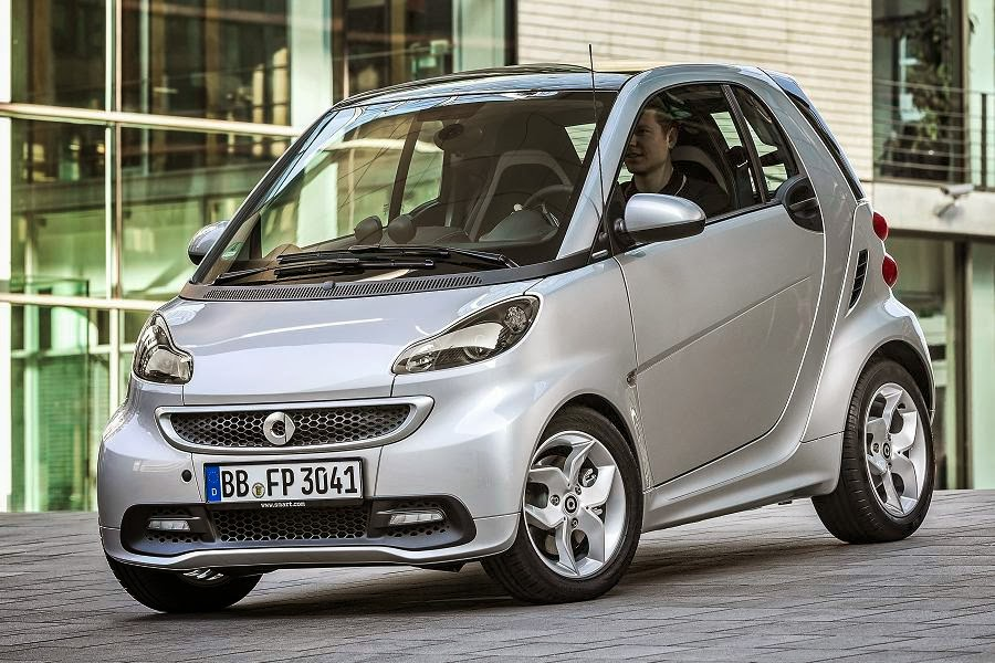 Smart ForTwo Citybeam Coupé (2014) Front Side