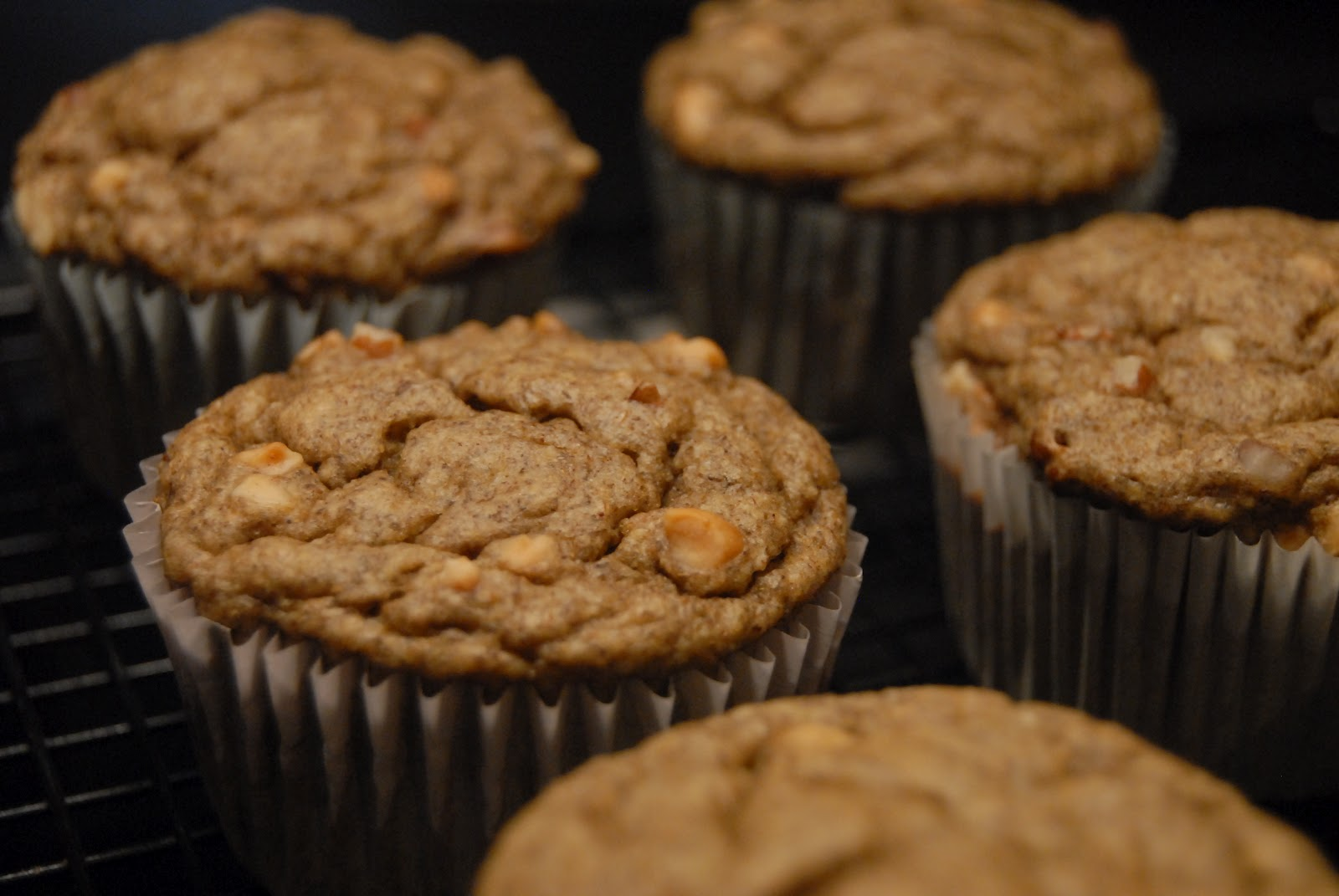 Two Skinny Moose: Banana Bread Chia Protein Muffins
