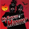 Cover to LM.C's new single, My Favorite Monster.