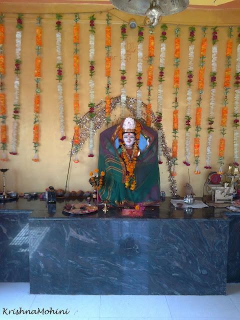 Image: Loving Devi Maa inside Temple