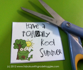 image about Have a Kool Summer Printable referred to as Clroom Do-it-yourself: Do-it-yourself Straightforward Conclude of the Yr Present