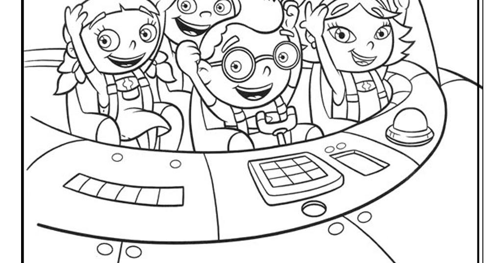 Octonauts Coloring Pages Disney Jr : Disney junior octonauts coloring pages