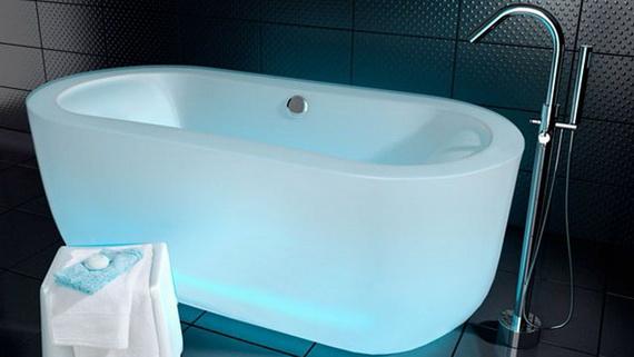 tr s contemporaines luxes id es de baignoires d cor de. Black Bedroom Furniture Sets. Home Design Ideas