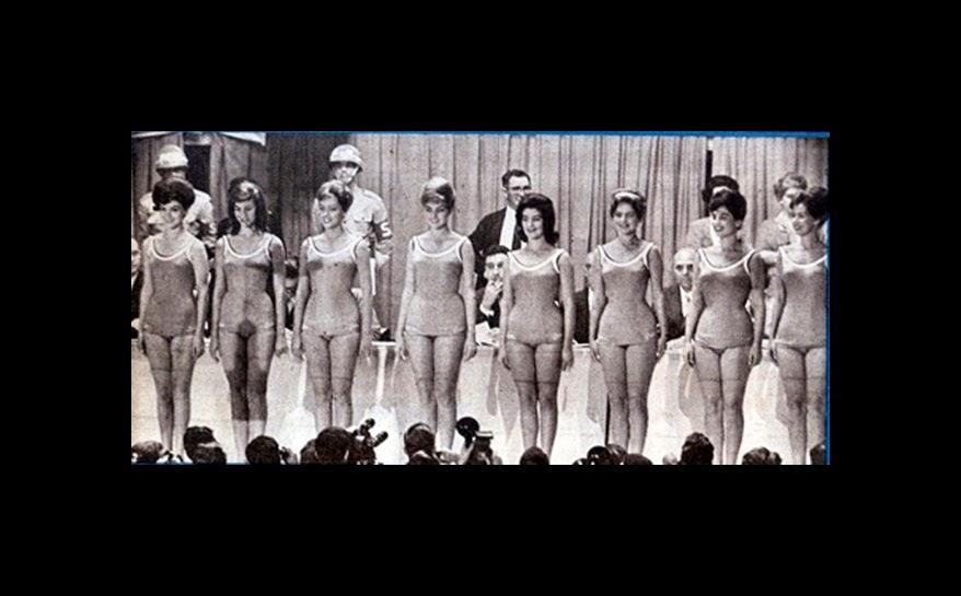 CONCURSO MISS UNIVERSO BRASIL 1961