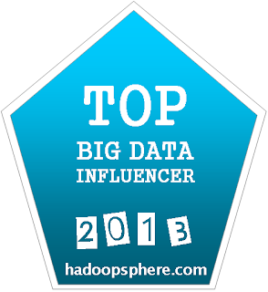 Top Big Data influencer Badge