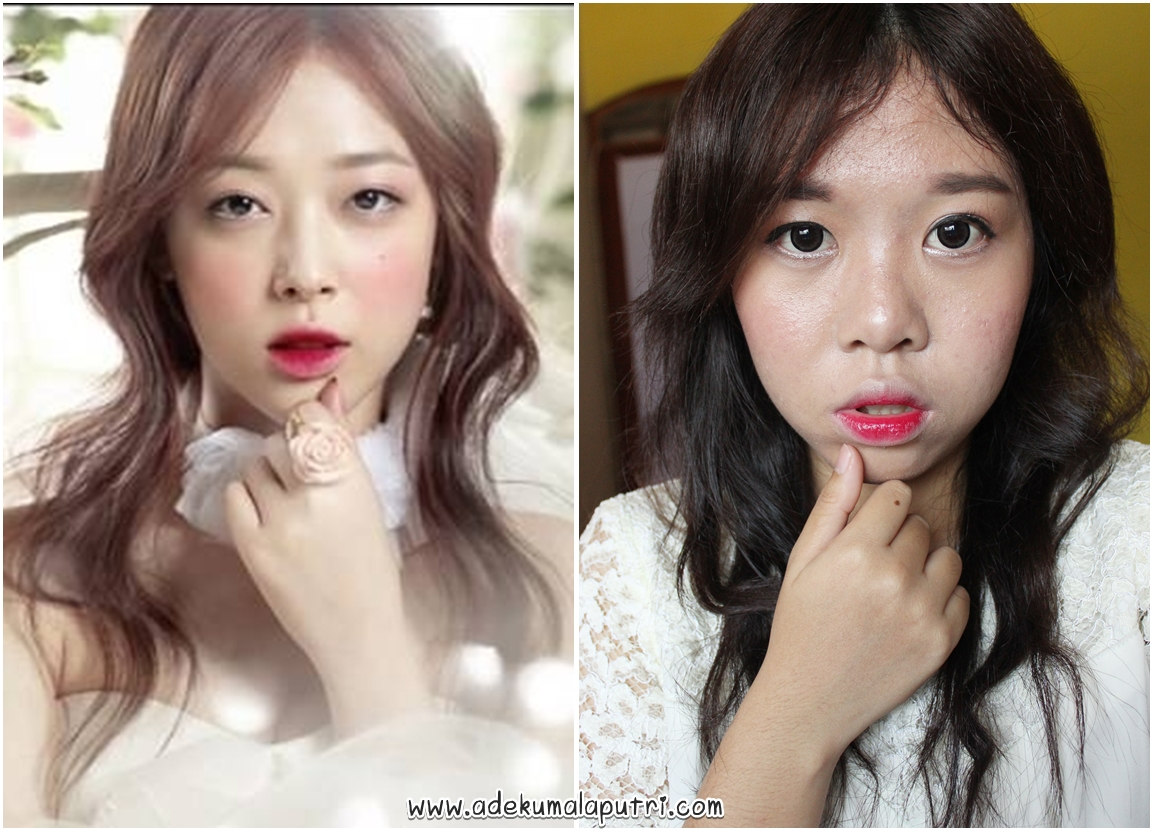 Lalas wonderland beauty blogger indonesia tutorial fx tutorial fx sulli etude house and rose collection inspired makeup baditri Image collections