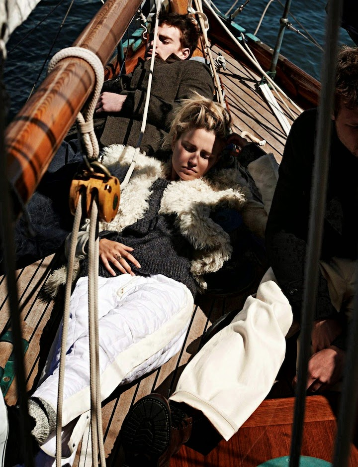 Cato Van Ee by Paul Bellaart for Vogue Netherlands November 2014
