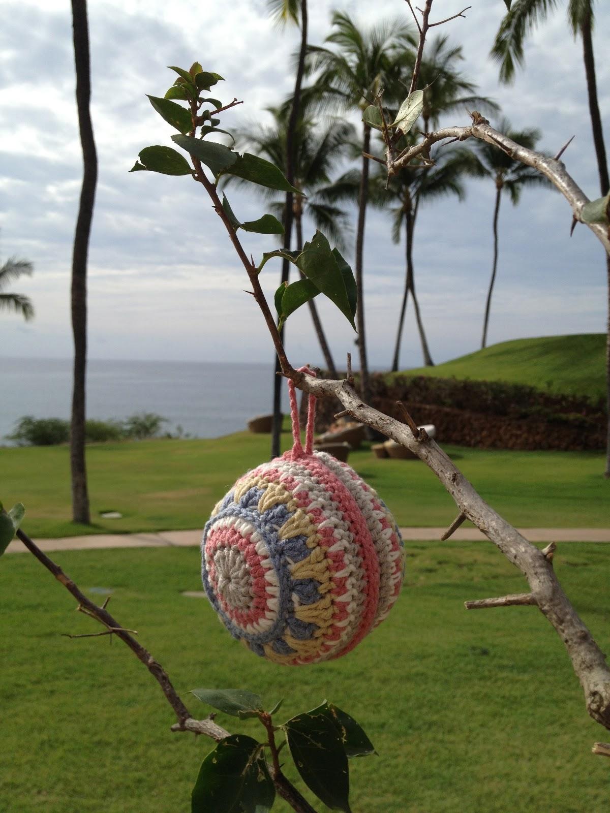 Annoos Crochet World Free Pattern Gorgeous Crochet Xmas Ornament