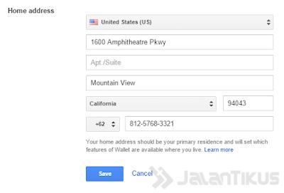 Membuat dan Konfigurasi Google Wallet