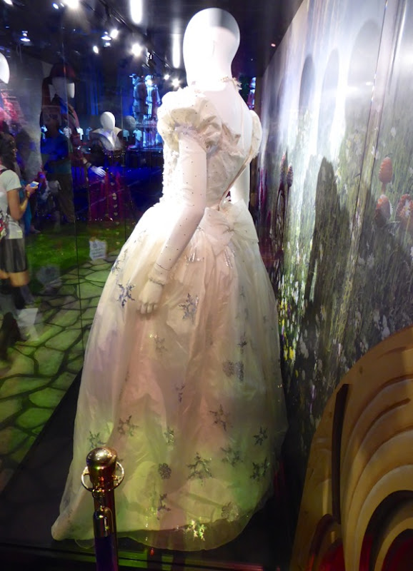 Alice through the Looking Glass Mirana gown back