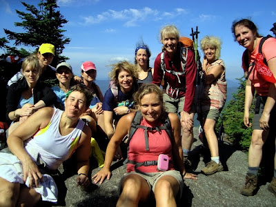 L to R, at the top of Macomb: Linda and Cathy (front), Cherie, Marcy, Lisa P, Jen, Beth, Carol, Lisa G, Tobie, Judy.