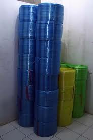 Tali Rafia Roll Biru