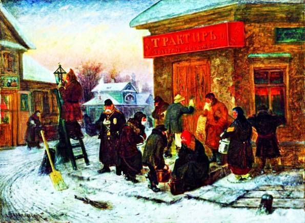 Антиалкогольные бунты в России (1858 - 1860 г.г.)