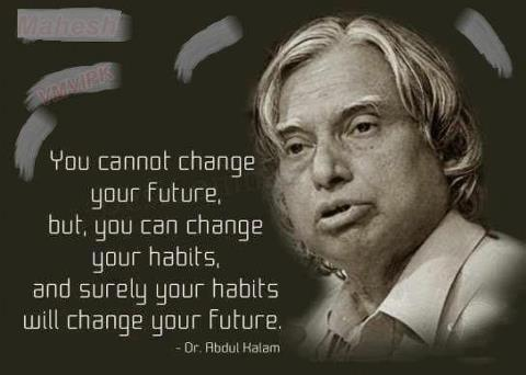 Abdul Kalams Confidence Quotes For Youths For My Facebook Page Wall