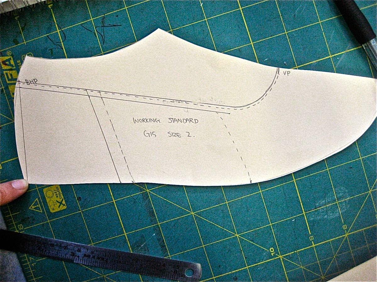 Jak projektuje się buty - metoda tradycyjna
