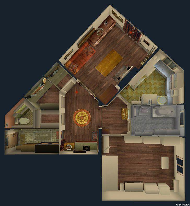 Antoine Grac: Architecture D'Interieur