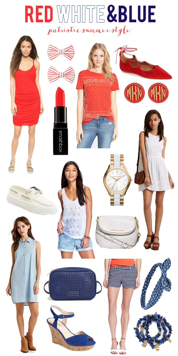 Red, White, Blue | Patriotic Summer Style
