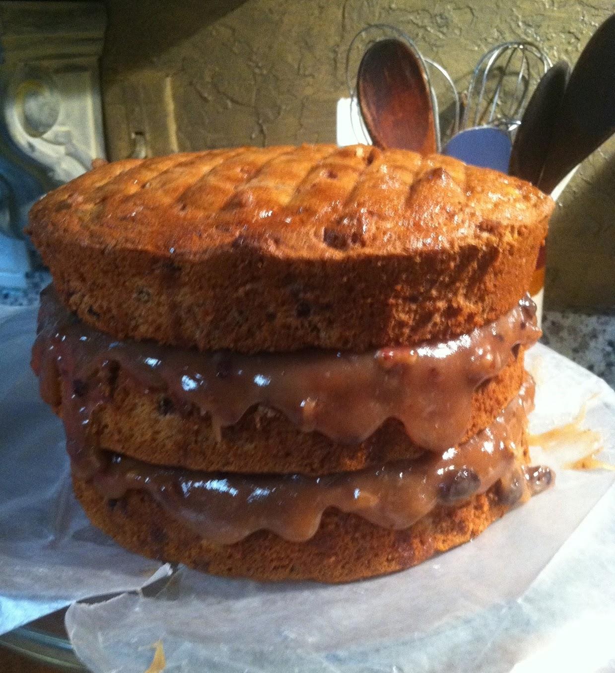 Old Fashioned Southern Jam Cake Recipe