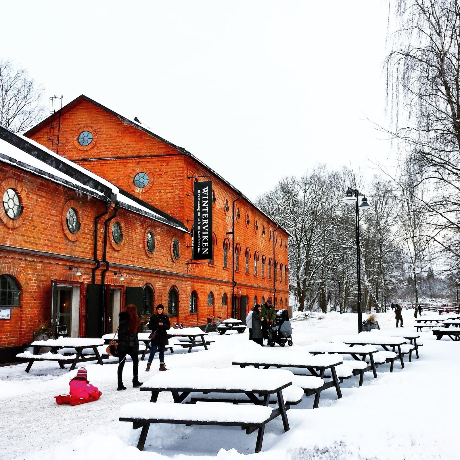Winterviken     Stockholm's snow angels on afeathery*nest     http://afeatherynest.com