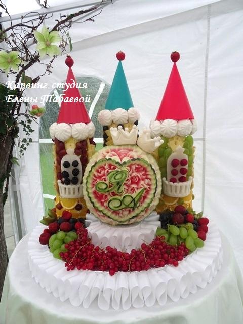 фруктовая композиция на свадьбу южно-сахалинск