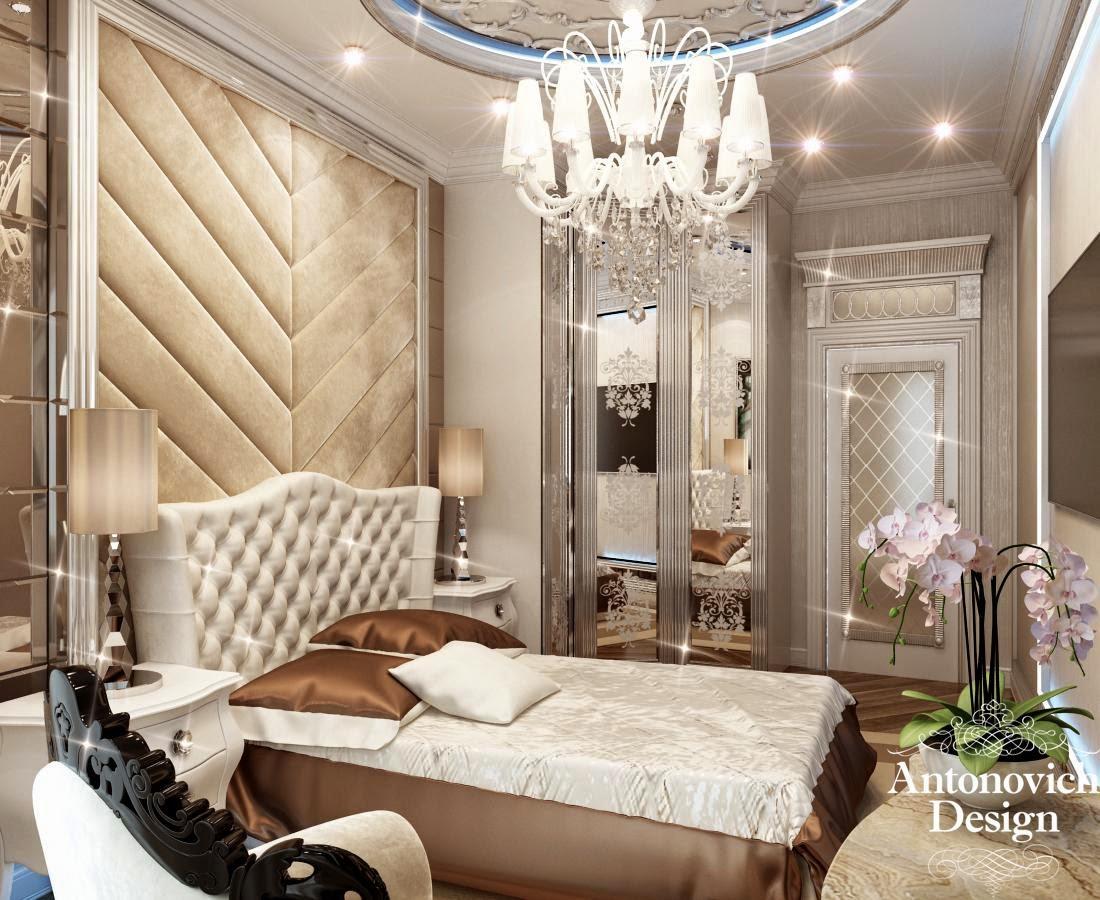 Спальни от антонович дизайн