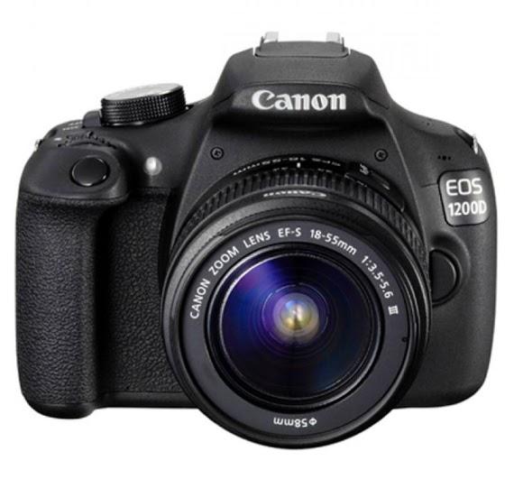 Harga dan Spesifikasi Kamera DSLR Canon EOS 1200D – 18 MP