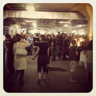 bowerbird bazaar 2012 - a much bigger venue