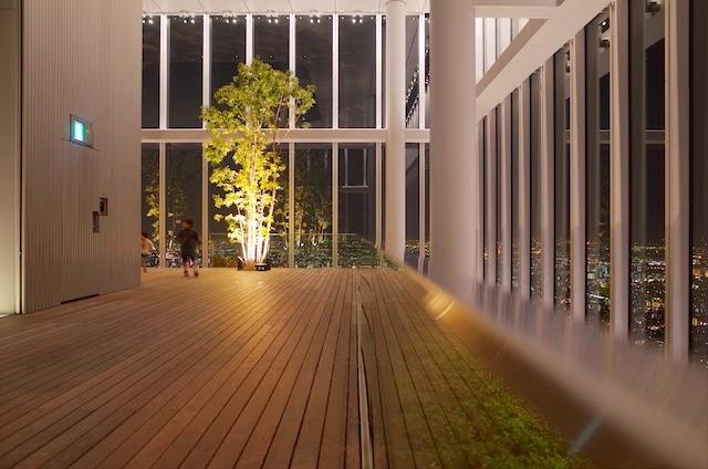 ハルカス300 展望台 空中庭園
