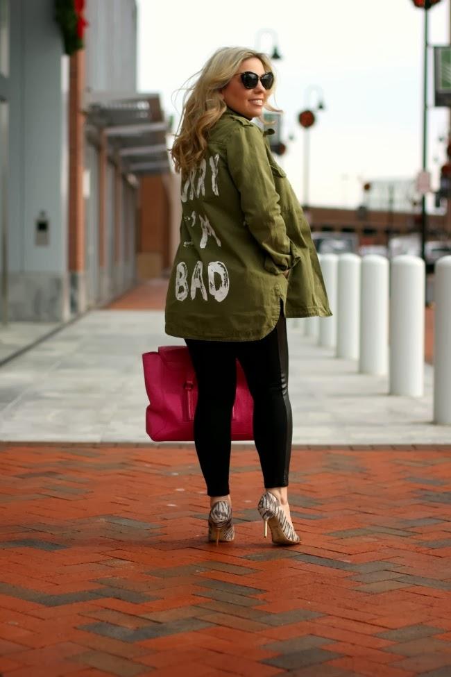 Forever 21 Military Jacket