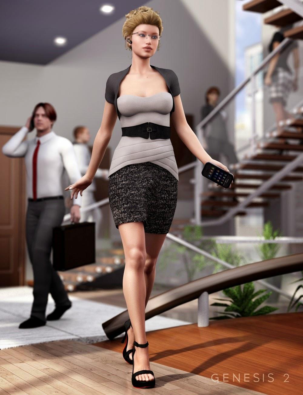 Retour à Outfit affaires pour Genesis 2 Femme