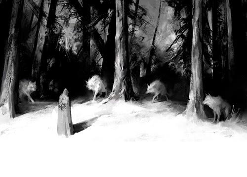 Grimm, Wolf, Wolves, Fairy tale, Baśń, Czerwony Kapturek, Baśnie o wilkach, Baśnie na warsztacie, Mateusz Świstak, kruku, ravens, siedem kruków, William Blake, Czerwony Smok, Red Dragon