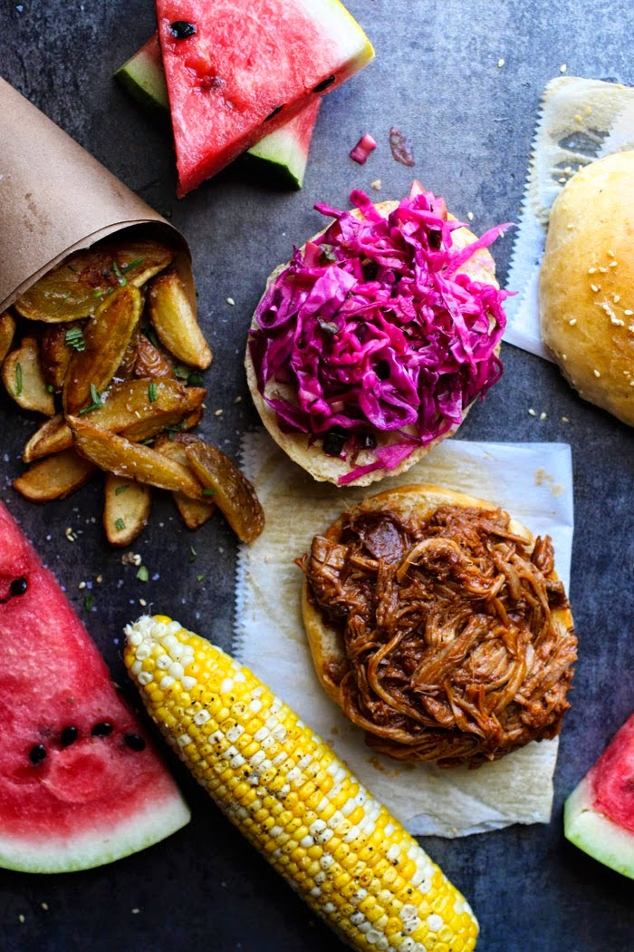 Perfect Slow Cooker BBQ Pulled Pork Sandwiches