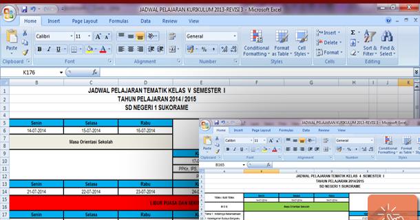 Download Contoh Jadwal Pelajaran Tematik Kurikulum 2013 Sd Wiki Edukasi