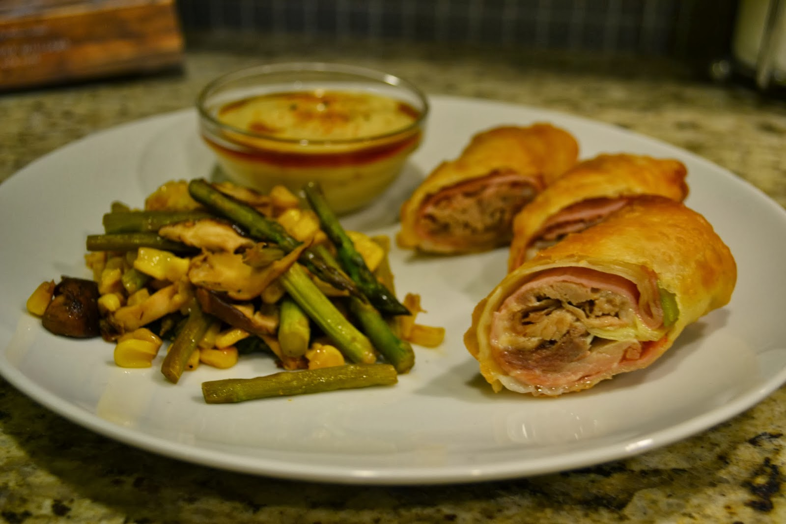 Monte cristo egg rolls w wasabi mojo add avocado this recipe is slightly adapted from an episode of diners drive ins and dives from the food network i saw these on the funky finds in flavortown forumfinder Image collections
