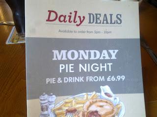 Selly park tavern pie