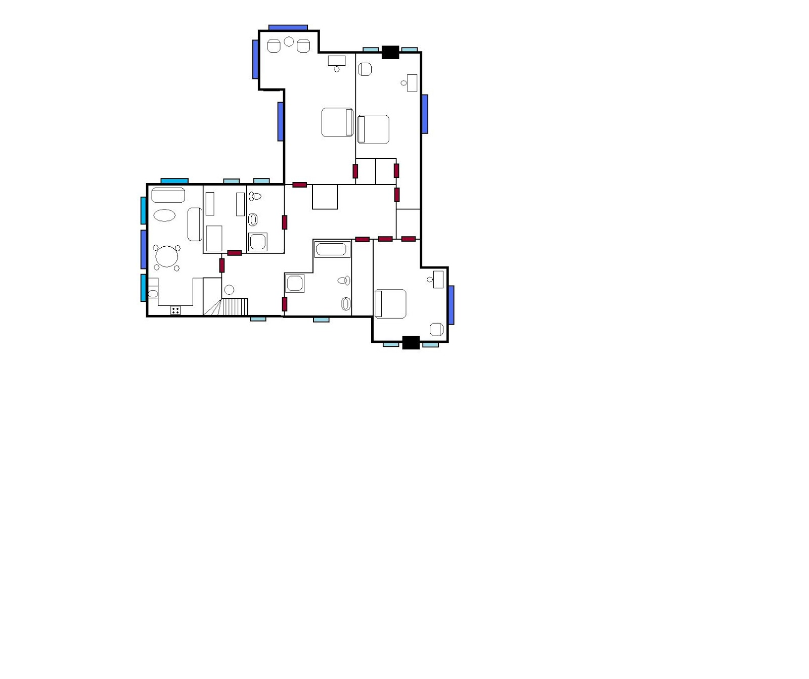 Paint houses victorian mansion floorplans - Floor plans for free paint ...