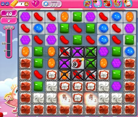 Candy Crush Saga 888
